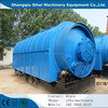 Waste management diesel old tyre pyrolysis plant with CE ISO from shangqiu sihai machinery