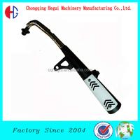 factory low price welding motorcycle 250cc motorcycle muffler