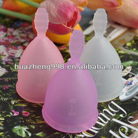 100% medical silicone hygiene period cup for wholesale