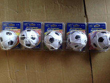 2015 mini white football/soccer car air freshener with net and cupula