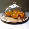 popular hot sale acrylic sphere cake dome containers