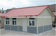 Q235 and Q345 steel structure prefabricated mobile living house and modular living house