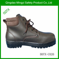 Barton printed waterproof mid ankle lace up industrial men work goodyear shoes