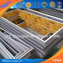 Extruded aluminium profile prices / aluminium extrusion for window door solar manufacturer