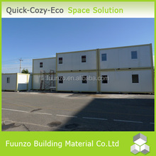 Decorative Glass Comfortable Good Ventilated Worker Accommodation
