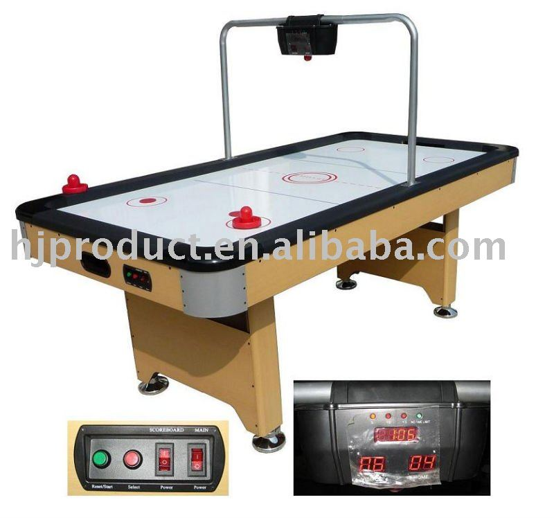 High quality household digital scoring electric air powered air hockey table for adult buy - Mesa de hockey de aire ...