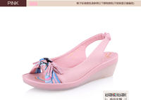 High quality leather beautiful latest 2015 fashion sandals ladies shoes