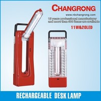 Rechargeable emergency camping & desk tube and LED lantern