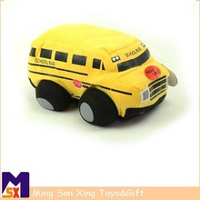 Sedex auditoría nuevo diseño EN71 encargo peluche de felpa de juguete bus