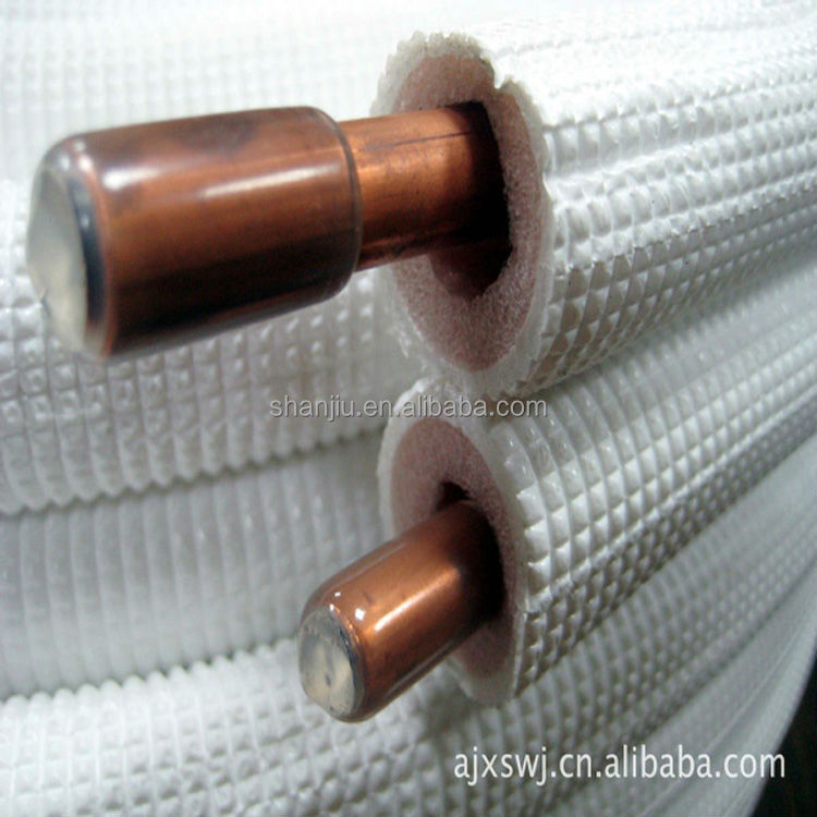 Insulated connecting copper pipe buy insulated for How to insulate copper pipes