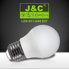 G45 5W E27 energy saving lampada led with CE