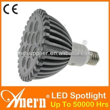 alibaba china 2012 New Design High Power Led Spotlight 7W E27 Aluminum+ E27