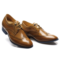 High class good quality branded Guangdong factory offer mens formal shoes elevator shoes diabet shoe