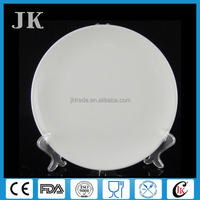 China wholesale cheap white ceramic dinner plate 7 inch