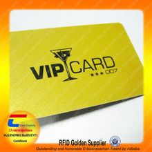 LUXURY! PVC RFID Loyalty Card for VIP (14 years RFID Production experience)