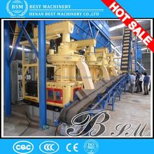 High standard mobile pellet plant making machine