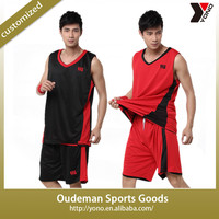 2015 YONO Factory price wholeselling reversible basketball jersey