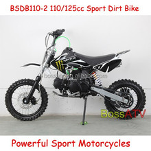 110CC 125CC Dirt Bike 4 Stroke Engine Type Mini Pocket Bike Motorcycle