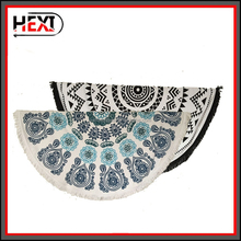 Round Beach Towel with Tassel Fringes ,Cool Beach Item