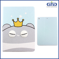 PU+TPU Painting Flip Cover for iPad Air