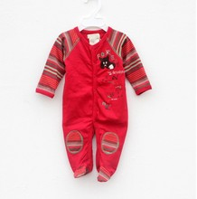 R&H baby girl 12 months red embroidery cat knitted wrap feet clothes