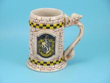 YF18789 classic ceramic beer mug with embossed decoration beer cup ceramic beer mug