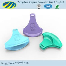 colorful rapid prototype plastic clips