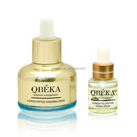 QBEKA energy extract copper peptide anti-ageing serum manufacturer in PRC