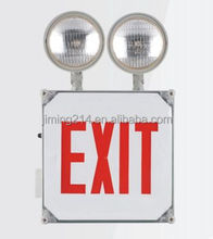 UL Approved Wet location rated EXIT SIGN Combo JECWPR 1408211753