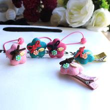 Cheap Cute Flower Hair Clip Baby Lovely For children hair accessories