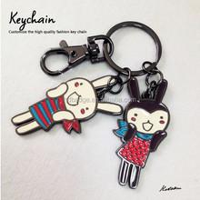 Por encargo llavero de metal con logo, animales llavero de metal, keychain de la aleación
