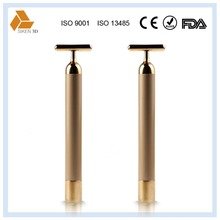 v care handheld electric vibrator massager 24k gold beauty bar