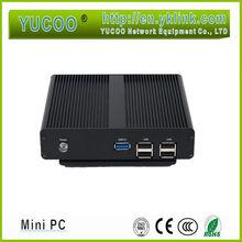 300M wifi 64 bit Intel Celeron Baytrail J1900 quad core 2.42Ghz fanless mini pc