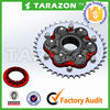 Hot sale and high quality china motorcycle sprockets from tarazon