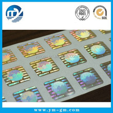 2014 high quality hologram , customized hologram sticker , laser anti-counterfeit labels / trademark