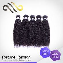 Professional Factory Supply Clean And Soft Donor Cheap Kiki Curl Brazilian Human Hair Weave