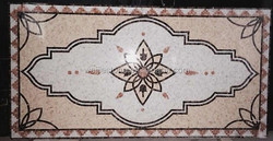 Antique style stone carpet for home entrance design