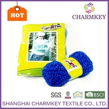 Acrylic polyester blended hand knitting yarn balls