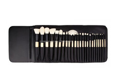 High Quality 24pcs Goat Hair Cosmetic Accessories Professional Makeup Brush Set