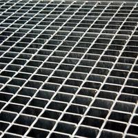 Galvanized Catwalk steel Grating in manul welding