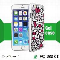 Ce sgs certificate gel skin cell phone shell
