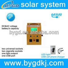 300watt wall-handing portable solar electricity generator