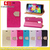 Luxury Bling Crystals Glitter Wallet Flip Case Cover For Samsung Galaxy S5