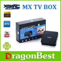Original! kodi Fully Loaded MX TV Box Android 4.2 Dual Core 1G+8G Amlogic 8726 A9WiFi DLNA Google Smart Mini PC MX GBOX