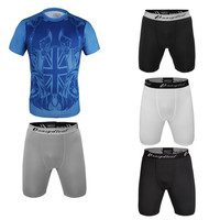 fashion cheap custom design lycra compression tight gym suit