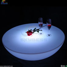 RGB 16 colors led coffee table/ led furniture/ led table and chair for event