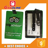 Various classical high quality nice pvc luggage tag wholesale