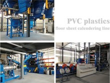 Hot-sale Plastics calendering and laminating pvc floor mat production machine