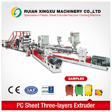 23 years experience PC plastic extrusion line - YX-23P