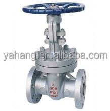 Chemical industry flange end carbon steel class 150 gate valves